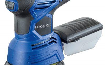 LUX-TOOLS EXS-240 A Exzenterschleifer mit Klett-Befestigung
