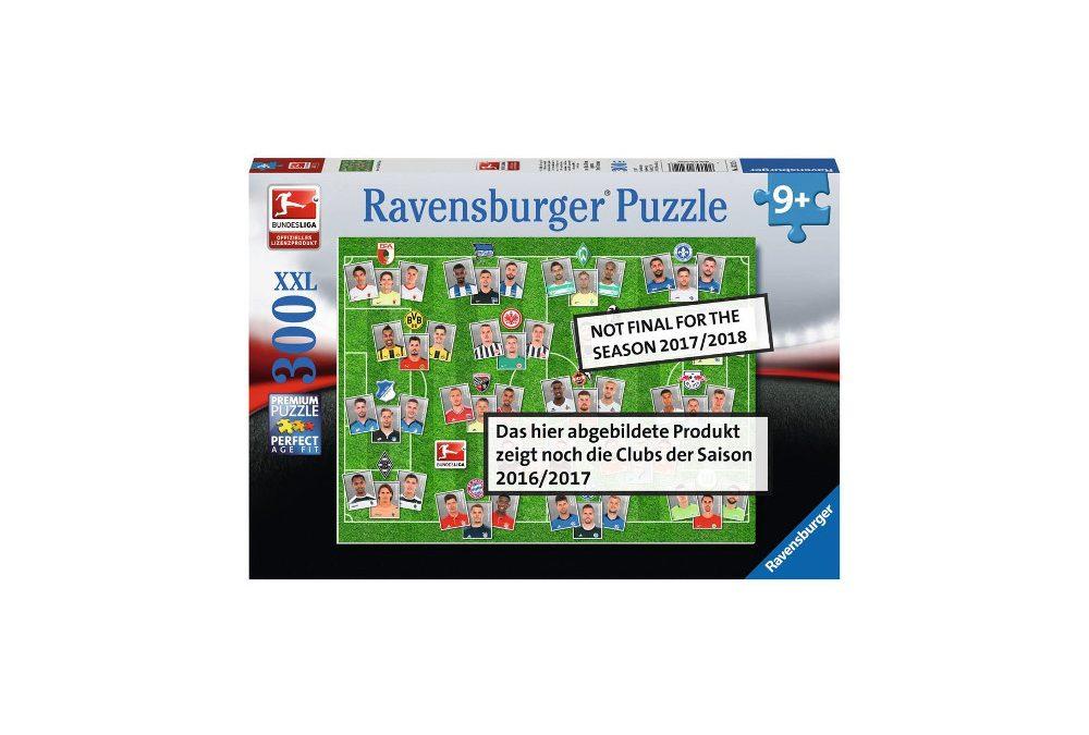 Bundesliga Fußballpuzzle für wahre Fans