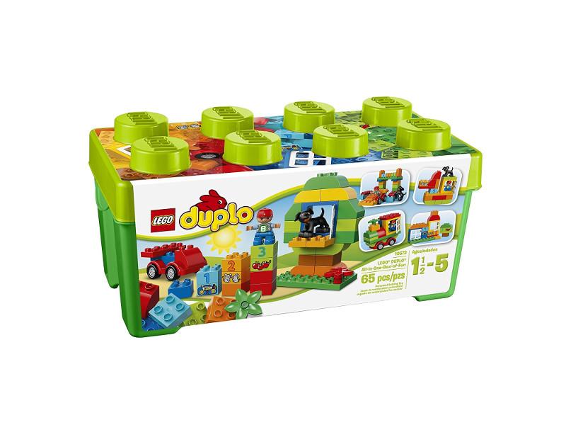 Lego-Duplo-Steine für das konstruktive Spiel